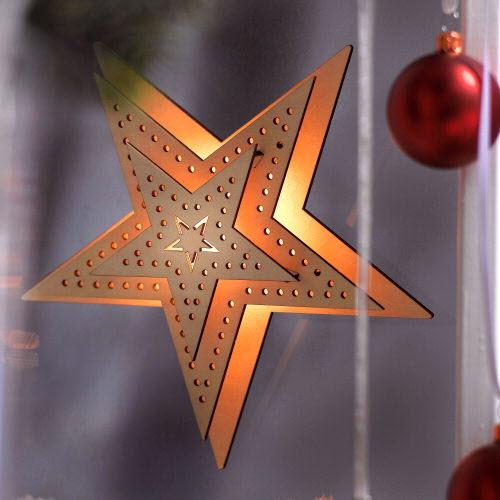 weihnachtsstern mit batterie weihnachtsstern aus holz mit. Black Bedroom Furniture Sets. Home Design Ideas