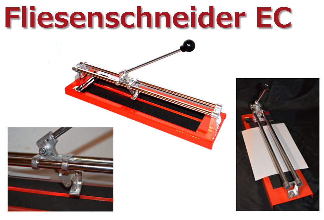 ec profi fliesenschneider 400mm schnittgenau made in. Black Bedroom Furniture Sets. Home Design Ideas