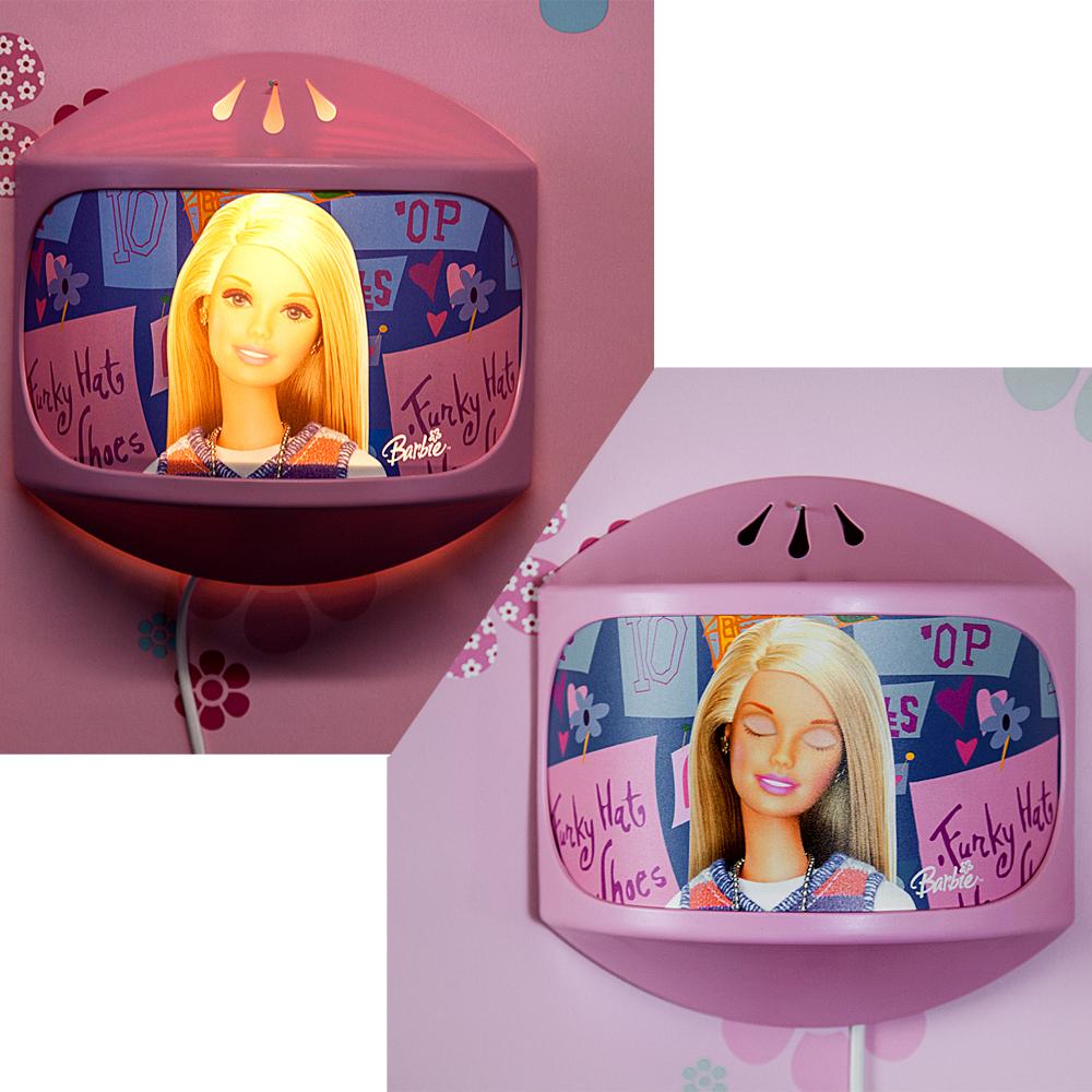 Barbie wandleuchte magic lampe wandlampe bei licht augen - Wandleuchte baby ...