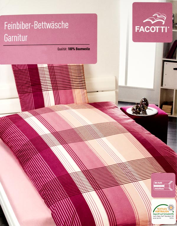 bettw sche 135x200 155x220 bergr e rei verschluss baumwolle seersucker jersey ebay. Black Bedroom Furniture Sets. Home Design Ideas