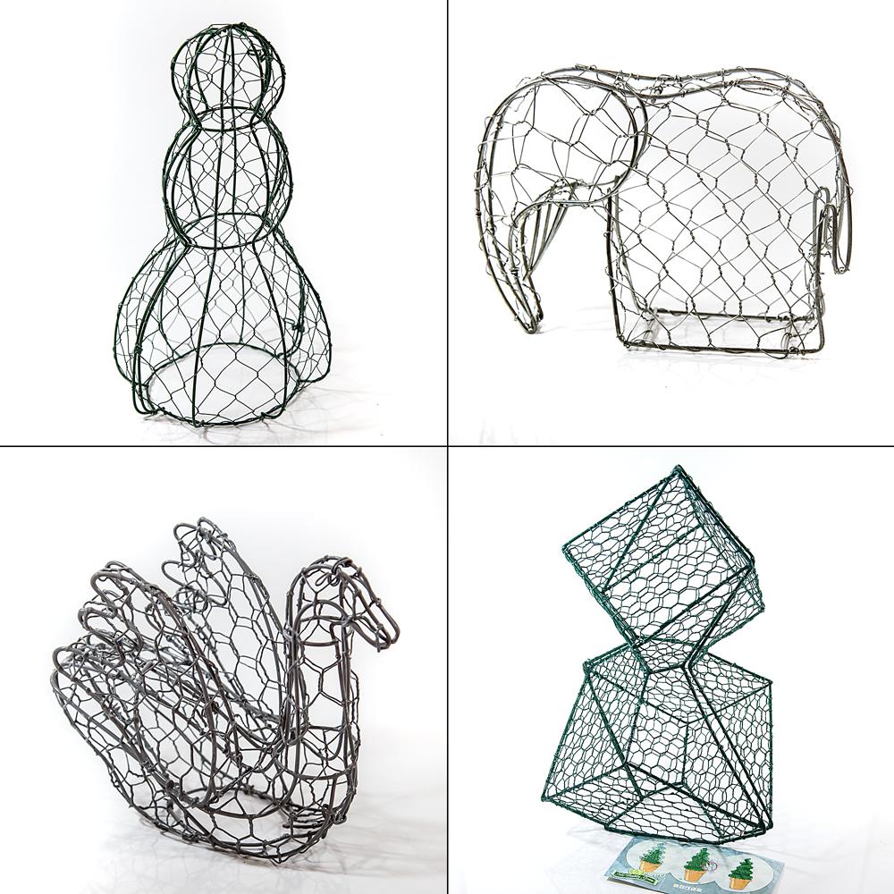 buchsbaumformer versch gr en formen tiere buxus formschnitt buchsbaum garten. Black Bedroom Furniture Sets. Home Design Ideas