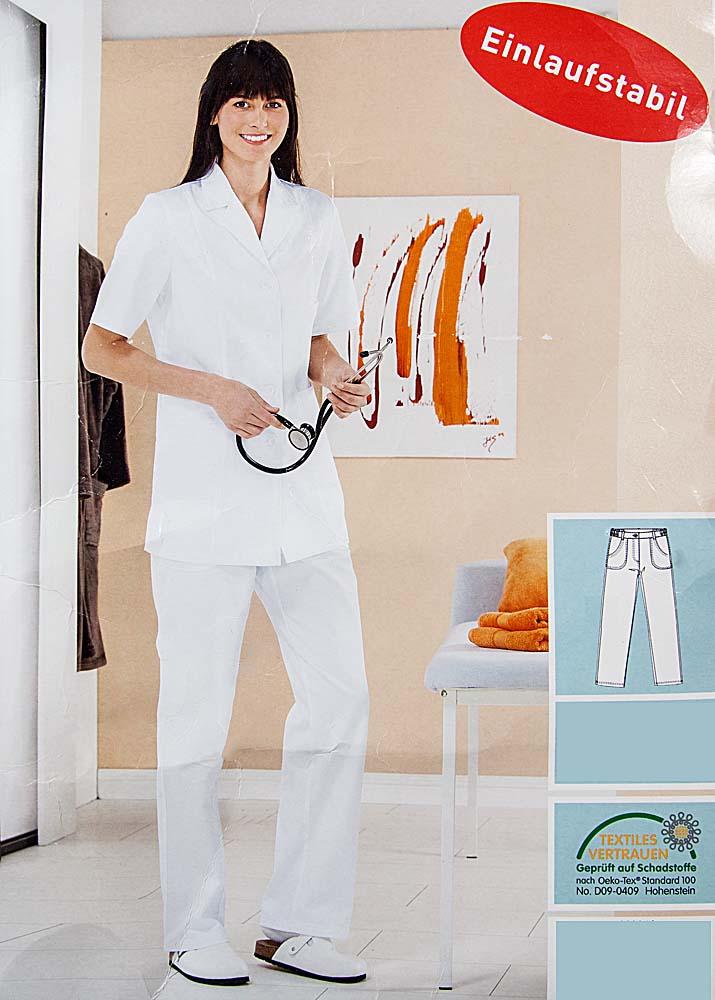 kasack oder hose damen herren berufsbekleidung pflegeberufe kosmetik kotex100 ebay. Black Bedroom Furniture Sets. Home Design Ideas