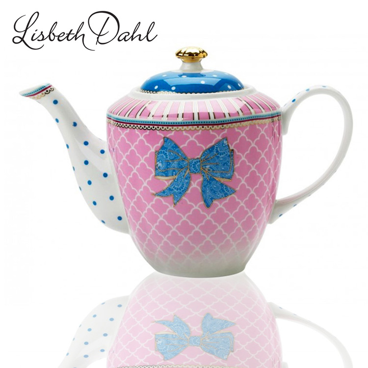 lisbeth dahl bowie teekanne kaffeekanne porzellan shabby granny stil kanne neu. Black Bedroom Furniture Sets. Home Design Ideas