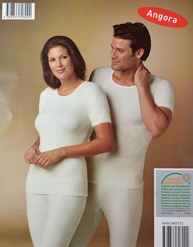 finest selection 07492 83c6b Angora Unterwäsche,Hose,Shirt,Damen oder Herren Öko-Tex ...